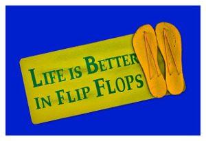 Flip-flopPostcard